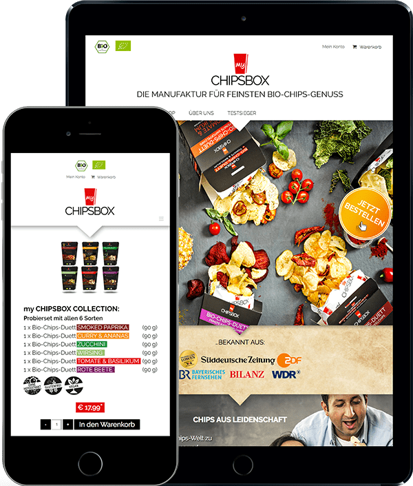 Mychipsbox Responsiv Design